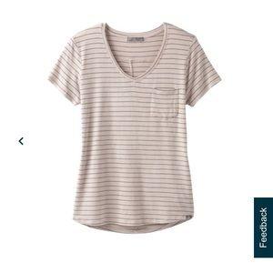 Prana short sleeve v-neck